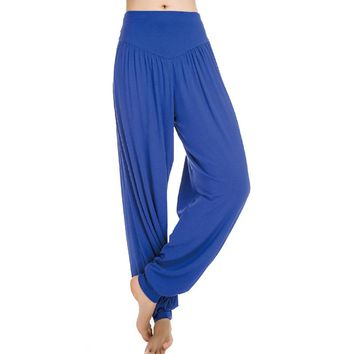 Harem Soft Modal Bloomers Yoga Pants