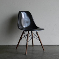 ON HOLD-Eames for Herman Miller Dowel Base Side Chair-DSW