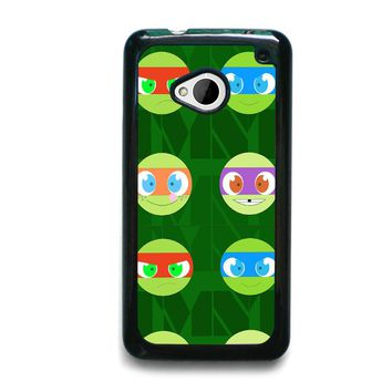TEENAGE MUTANT NINJA TURTLES BABIES TMNT HTC One M7 Case Cover