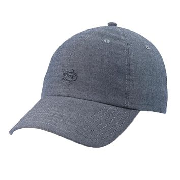 Oxford Chambray Skipjack Hat in True Navy by Southern Tide