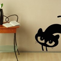 Wall Decals Cat Abstract Decal Vinyl Sticker Home Decor Petshop Cat Grooming Salon Window Decals Art Murals Chu1377