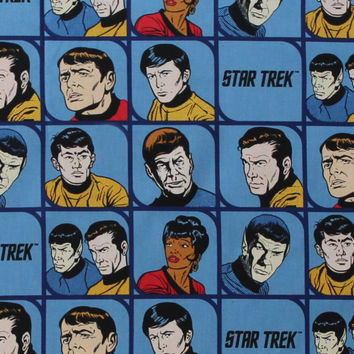 "Star Trek™ Cotton Fabric 44""-Characters 