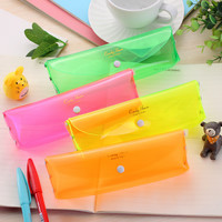 Hot Sale Lovely Sweets Transparent Pen Bags Storage Stationary [6282161990]