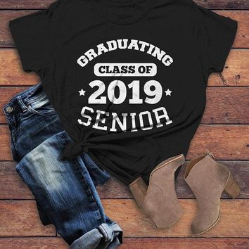Women's Graduating Class 2019 Senior T Shirt Graduation Gift Idea Graduate Shirt