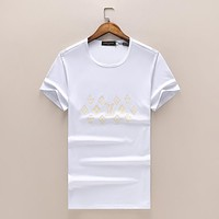 Trendsetter Louis Vuitton Women Man Fashion Print Sport Shirt Top Tee
