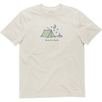 Life is good Men's Good In Tent Crusher Short-Sleeve T-Shirt