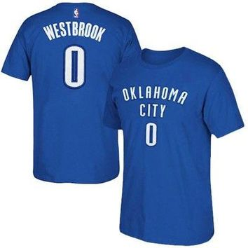 Russell Westbrook Oklahoma City Thunder OKC NBA Boys T-Shirt - Youth S, M, L, XL
