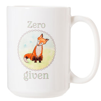 Zero Fox Given Coffee Cup Mug