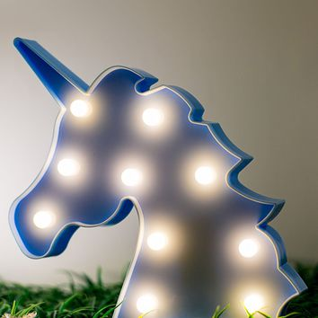 Battery Operated Unicorn Light