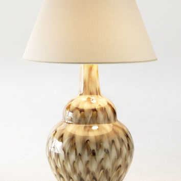 Pheasant Feather Lamp