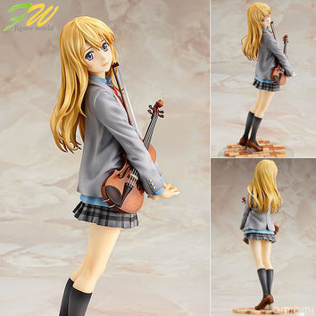 action figure your lie in april kaori miyazono cartoon doll PVC 20cm box-packed japanese figurine world anime 1601107