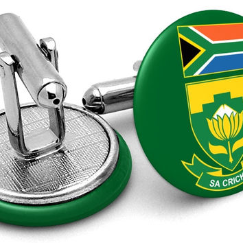 South Africa Cap Cufflinks