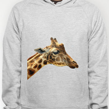 Jeffery the Giraffe Hoody by Wood-n-Images | Society6