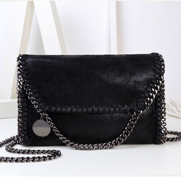 Women Bag Message Bag Pu Leather Fashion Portable Chain Bag Woven Shoulder bags bolsa feminina carteras mujer stella handbags