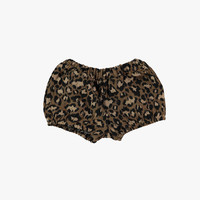 Tocoto Vintage Girl Bloomer in Animal Print - W2215