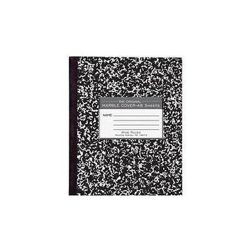 Roaring Brook Press Paper Products Marble Cover Composition Book 48 Sheets, 8-1