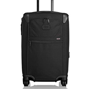 Tumi Alpha 2 4 Wheeled Expandable International Carry-On, Black, One Size