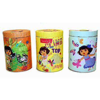 Dora the Explorer Round Coin Banks