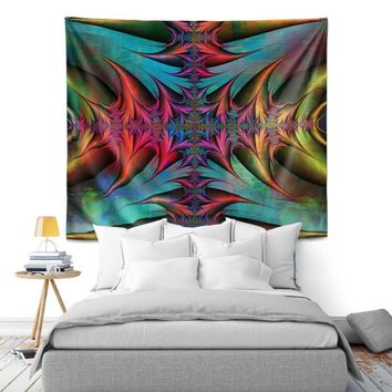 Wall Tapestry By Christy Leigh Tribal Magic I