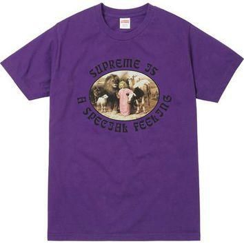 Supreme Feeling Tee - Purple