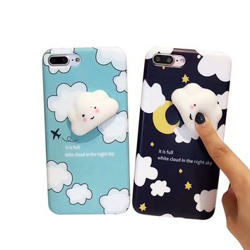 Squishy 3D Animal Cat Panda Seal Soft TPU Gel Case Cover For iPhone 7 7 365859388930