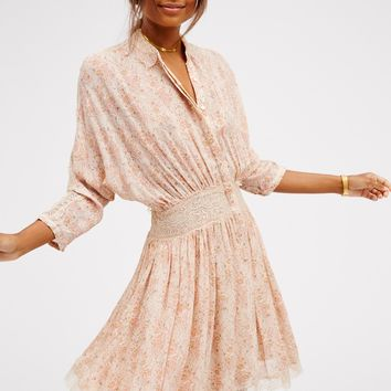 Free People Latte Mini Dress