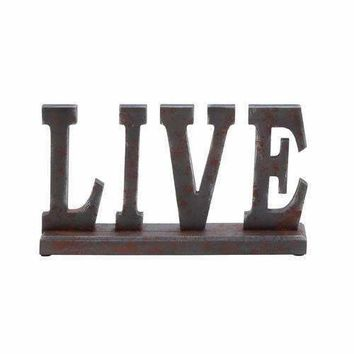 "Wooden Table Top ""Live"" With Rustic Appeal"