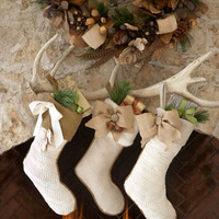 French Laundry Home Country Christmas Stockings