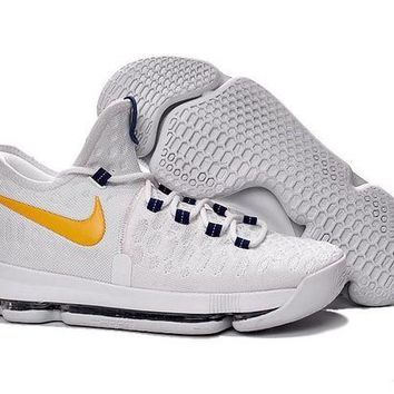ONETOW Nike KD 9 shoes White Yellow