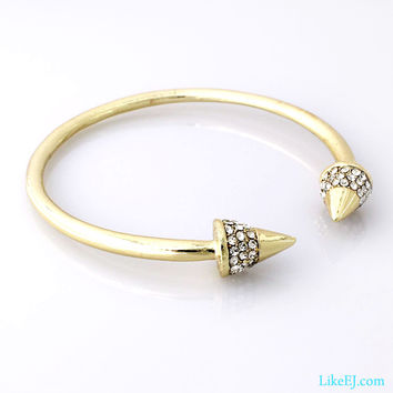 Luxury Spike Bangle Bracelet