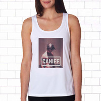 taylor caniff white Tanktop for women