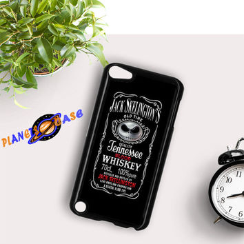 Jack Skellington Whiskey Daniels iPod Touch 6 Case Planetscase.com