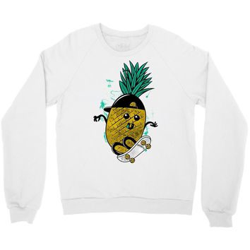 pineapple skateboarding Crewneck Sweatshirt
