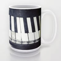 Broken Keys Photo Mug 11 oz cup 15 oz cup Fine Art Photography Cup Unique Gift Piano Coffee Mug Music Tea Cup Kitchen Piano Keys