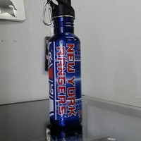 NHL New York Rangers 26 oz. Blue Stainless Steel Water Bottle with 360 Wrap