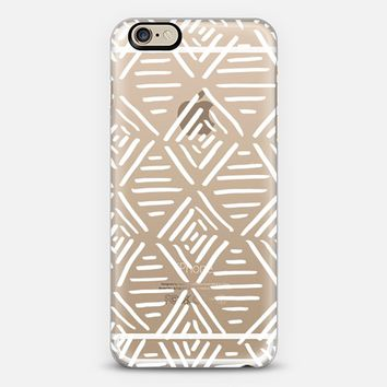 Line Work iPhone 6 case by M O G L E A | Casetify
