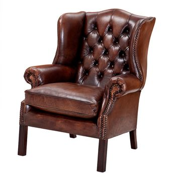 Leather Lounge Chair | Eichholtz ClubBradley