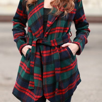Take A Hike Plaid Jacket
