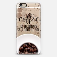 Coffee iPhone 6 case by Tracey Coon | Casetify
