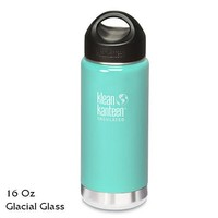 Klean Kanteen Insulated Stainless-Steel Wide-Mouth Bottle with Loop-Top Cap - 16 fl. oz.