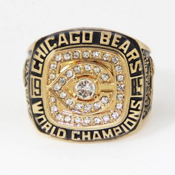 1985 Chicago Bears Super Bowl Football Championship Ring