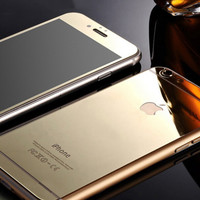 Gold Glass Film Screen Protector for Iphone 5s 6 6s Plus