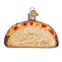 Taco Glass Blown Ornament