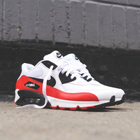 Nike Air Max 90 Essential - White / Red / Black | Sneaker | Kith NYC
