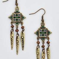 ModCloth Boho Alluring Adornment Earrings