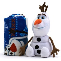 Disney Frozen Olaf 2-pc. Pillow & Throw Set