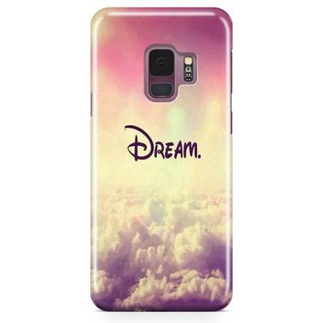 A Dream Is A Wish Your Heart Samsung Galaxy S9 Plus Case | Casefantasy