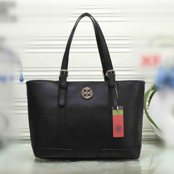 tory burch women simple fashion tote single shoulder shopper bag temperament casual large handbag