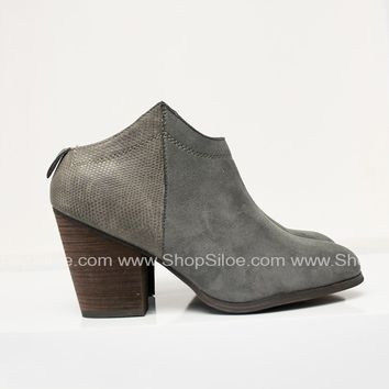 Slip On Desert Grey Booties