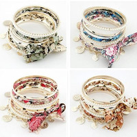 Fashion Elastic Bangles/Bracelets sets